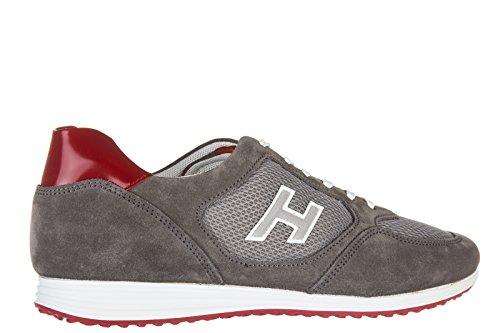 Hogan zapatos zapatillas de deporte hombres en ante nuevo h205 olympia h flock g