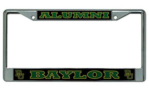 Baylor University Alumni Photo License Plate Frame -