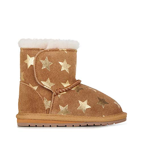 EMU Australia Kids Toddle Starry Night Deluxe Wool Boots Size 18M - Emu Baby Bootie