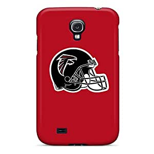 New Arrival Case Cover With QEyWP15399vjvBp Design For Galaxy S4- Atlanta Falcons 3