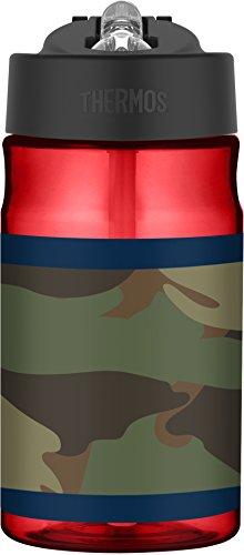 Thermos 12 oz Tritan Hydration Bottle, Camo Colorblock