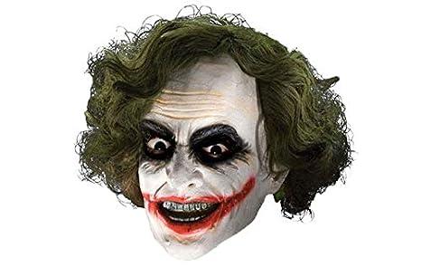 <b>Amazon</b>.com: Scary Clown Head Green Hair Scary Masks Helmet Full ...