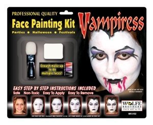 Vampiress Makeup Kit Wolfe Bros (Vampiress Makeup)