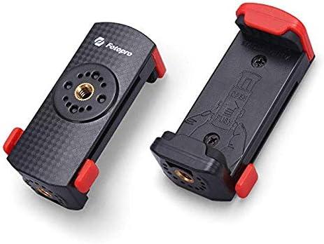 Fotopro Smartphone Pinza Universal, Móvil Adaptador para Trípode y ...