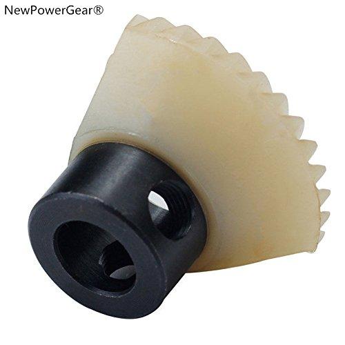 NewPowerGear Hook Drive Gear Replacement For Janome 4612 Travel Mate, HD1000, JD1814, JD1818, JD1822 by NewPowerGear