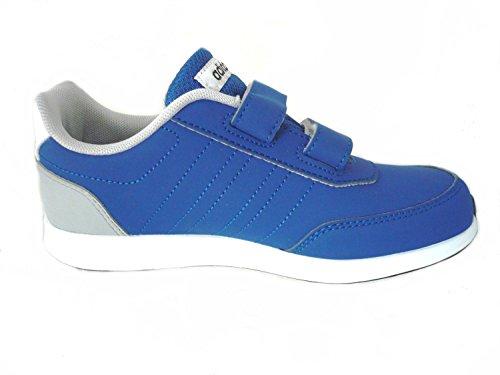 adidas Unisex-Kinder Vs Switch 2 CMF C Fitnessschuhe, Weiß Rosa, 30 EU Blau (Reauni / Ftwbla / Negbas)