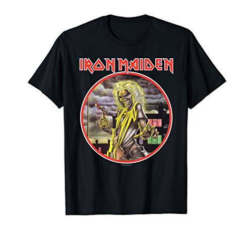 GM - Iron Maiden Killer Circle T-shirt T-Shirt