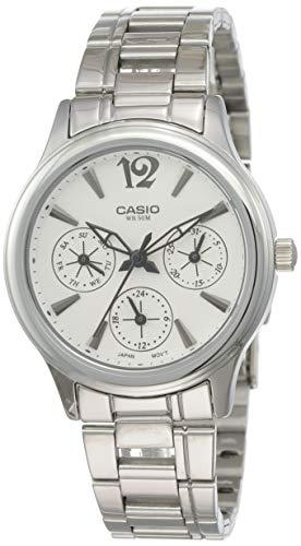 Casio Enticer White Dial Women's Watch   LTP 2085D 7AVDF  A848