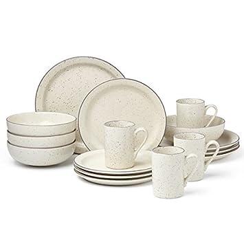 Kallan 16-piece Dinnerware Set by Dansk  sc 1 st  Amazon.com & Amazon.com   Kallan 16-piece Dinnerware Set by Dansk: Dinnerware Sets