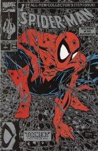(Spider-man #1 Black & Silver Edition - Todd Mcfarlane)