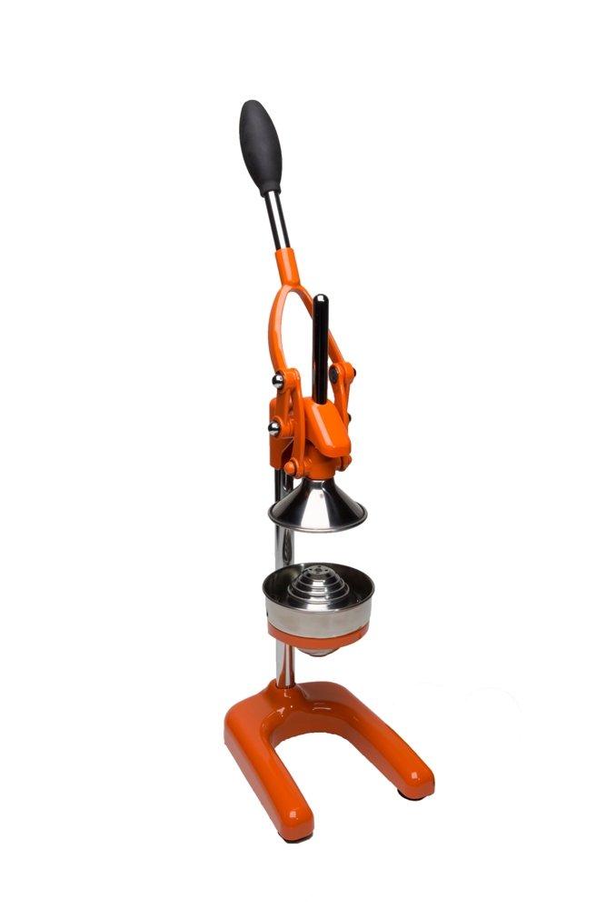 Cilio Commercial Grade Citrus Press Juicer, Orange