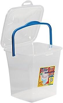 Takestop® - Caja, contenedor para detergente en polvo, práctico e ...