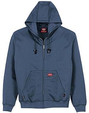 Men's Flame-Resistant Zip Fleece Hoodie Big