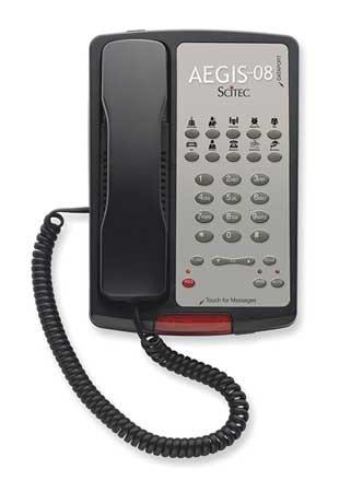 Hospitality Speakerphone, Black (Line Hospitality Speakerphone)