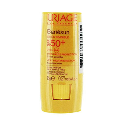 - Uriage Bariésun Stick Invisible Stick SPF50 + Very High Protection For Lips Sensitive Skin Sensitive And Delicate Bottle 8g
