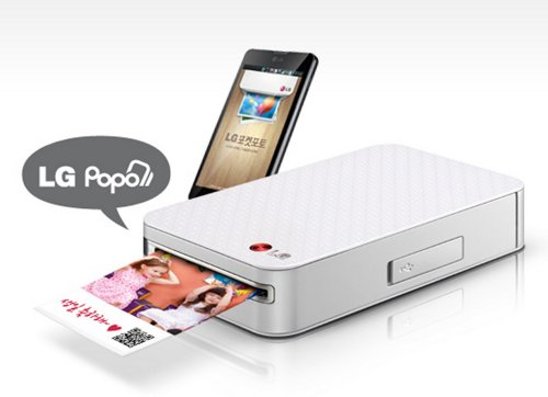iphone portable printer lg pocket photo pd221 silver mini mobile printer for 3089