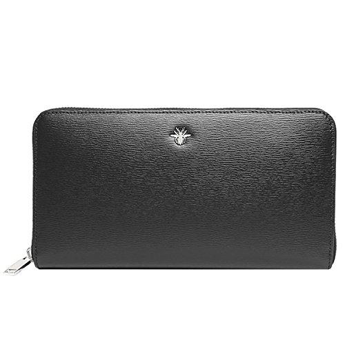 (ディオールオム) DIOR HOMME 財布 メンズ ラウンドファスナー 長財布 [並行輸入品] B07BCKMZ78