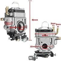 JIANGUAND fibra de carbono del carburador y el bulbo junta ...