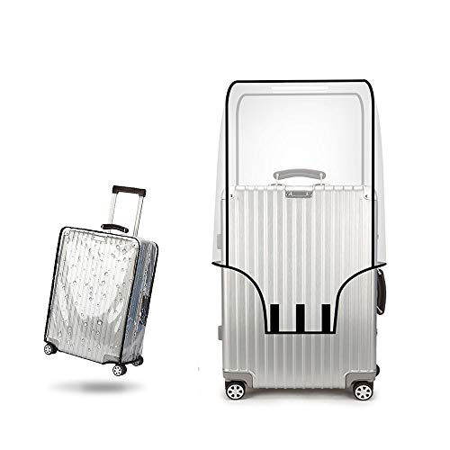 PVC Luggage Protector Cover Clear Suitcase Cover Protector Fit Most 20'' to 30'' Luggage (20inch)