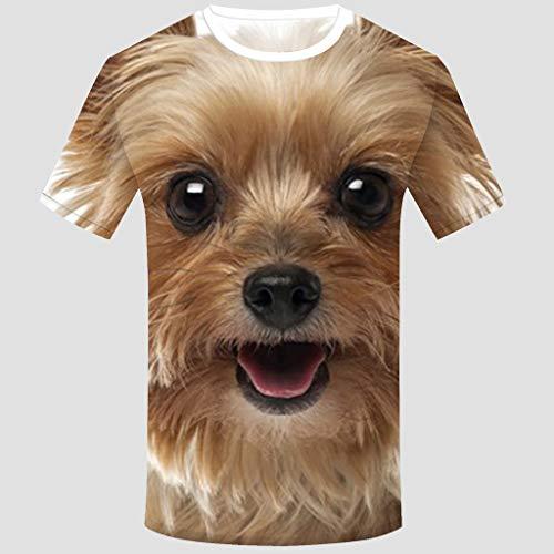 T Courte Manche Pattern T shirt Mcys shirts Unisexe Courtes À Manches 3d Imprimé J pUwqxd