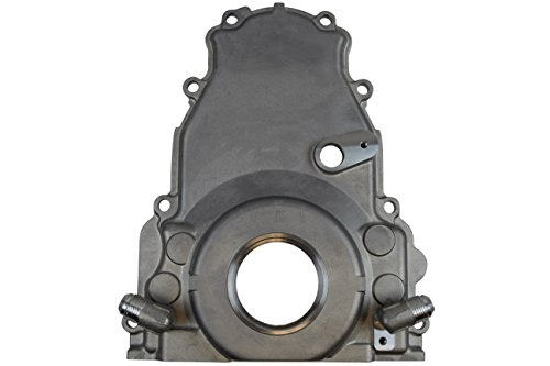 LS Gen 4 Twin Turbo Oil Drain Return - Front Timing Chain Cover - Turbo Timing Cover