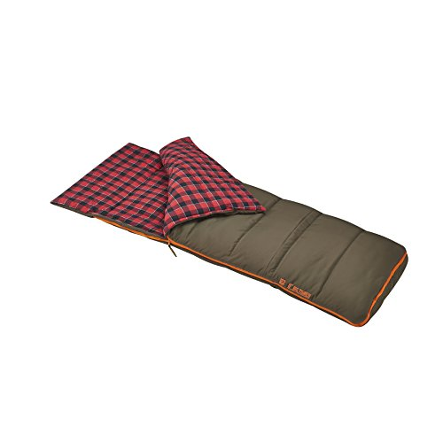 Slumberjack Big Timber Pro 0 Degree Sleeping Bag, Brown