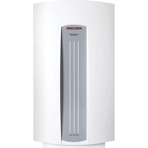 Tankless Water Heater Electric Powered DHC 5-2 0.73 GPM Point-of-Use with Sleek European Design and Overheat Safety Protection, Ideal for Sink Applications by Stiebel Eltron