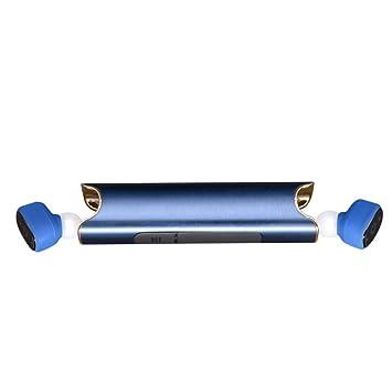 NEMACH Auriculares inalámbricos Bluetooth Funcionamiento deportivo Tapones para los oídos Auriculares de calidad Batería recargable Durable Cargador ...