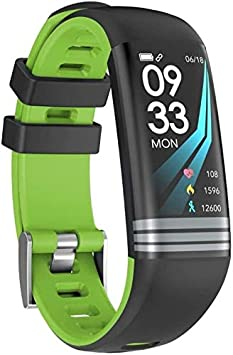 - Smart Wristband Watch Smart Fitness Tracker/Smart Bracelet,G26 0.96inch Color Screen Sleep Monitor Pedometer Fitness Tracker Smart Bracelet, Wristband for Kids Women Men (Color : Green)