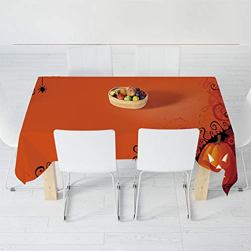 Fashionable Tablecloth,Spider Web,for Secretaire Square Table Office Table,54.3