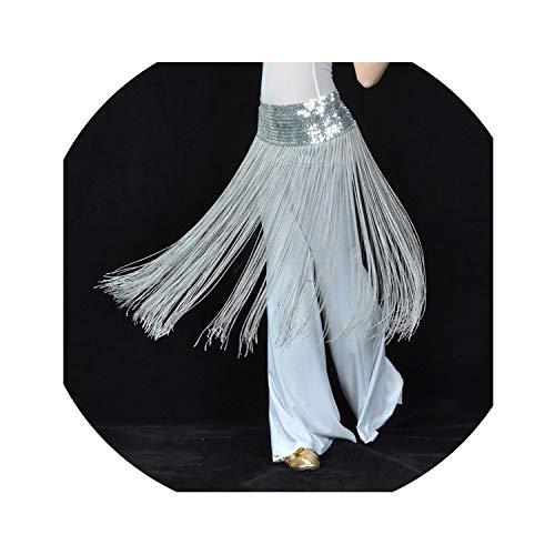 Adult Fringe Sequin Oriental Belly Dance Costumes Belt