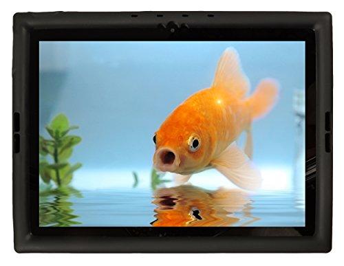Bobj Rugged Case for Google Pixel C 10-inch Tablet - BobjGear Custom Fit - Patented Venting - Sound Amplification - BobjBounces Kid Friendly (Bold Black)
