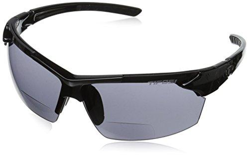 Tifosi Jet 0210800287 Dual Lens Reading Glasses,Gloss Black,65 - Designing Sunglasses