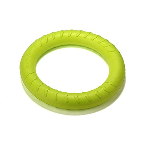 Big Leg Chews Turkey (CHOUWUED S/L Yellow Big Ring Floating Clean Tooth Chew Small Dog Toy Green Pet Toys Green L)