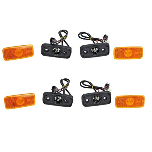 Genuine (4X) Side Marker Lamp with Wiring Loom & 1671689, VYC155034AC: