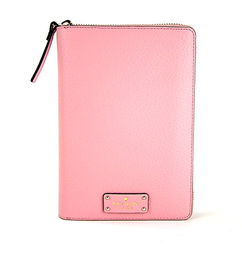 Kate Spade Zip Around Personal Organizer Grove Street Pink Bonnet by Kate Spade New York
