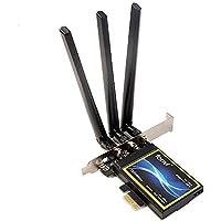 For Desktop Broadcom BCM94360 802.11a/g/n/ac WLAN + Bluetooth 4.0 1300M PCI-E Wifi Card 2.4 & 5GHz FV-T919
