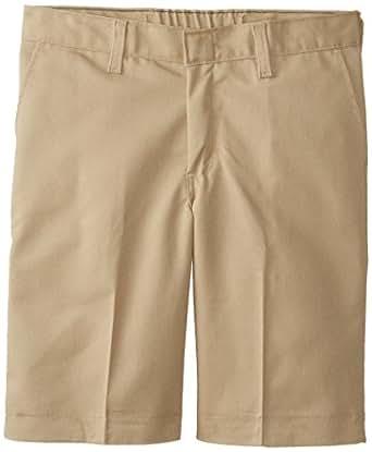 Dickies Big Boys' Flat Front Short With Extra Pocket, Khaki, 8