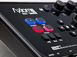 M-Audio Axiom AIR Mini 32 | Premium 32-Key USB MIDI Keyboard & Drum Pad Controller (8 Pads / 8 Knobs)