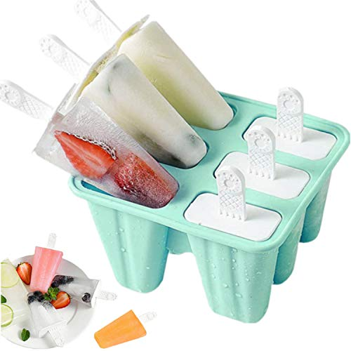 Popsicle Silicone Ice Pop Popsicle Reusable Easy Release Ice Pop Maker