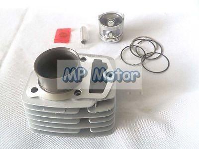Yunshuo 56.5 mm al/ésage du Cylindre Corps Segment de piston kit pour Honda CB 125 cl SL Moto