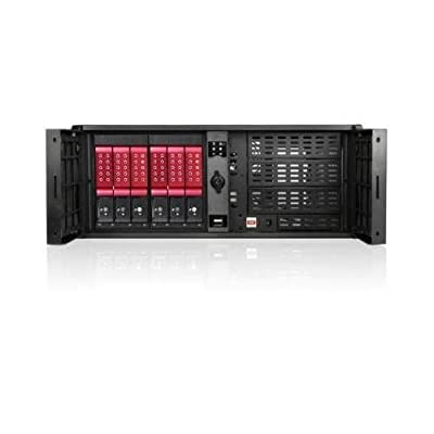 iStarUSA D-407P-DE6RD Red Steel 4U Rackmount Compact Stylish Server Case