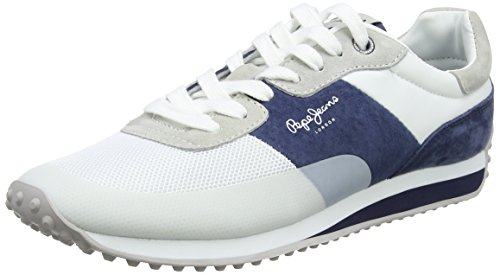 Sailor Garret Jeans White Blanco Pepe Hombre Zapatillas g0p7wxTPq