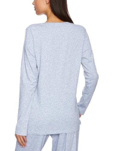 PRINCESSE tam.tam JOLIE,252 - Camiseta de pijama para mujer Gris (Flecked Grey)