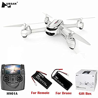 HUBSAN X4 H502S 5.8G FPV with 720P HD Camera GPS Altitude Mode RC Quadcopter from HUBSAN