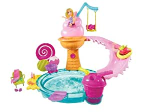 Polly Pocket Ice Cream Water Park Playset