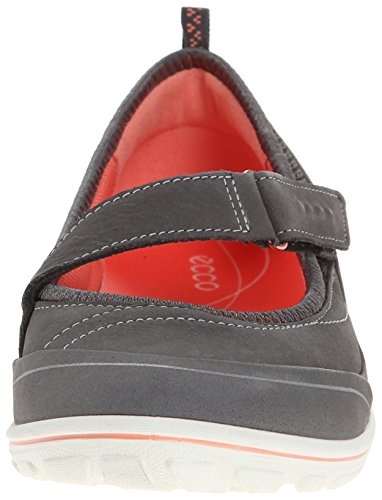 Ecco Arizona - zapatillas de running de cuero mujer Negro (DARK SHADOW/DARK SHADOW/CORAL58926)