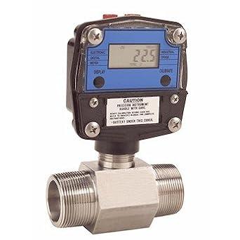 4-20mA 1-1//2 NPT M 177 GPM Great Plains Industries GNT-150S2-6 G Series Flowmeter w//Display COLE-PARMER AO-32610-47 1-1//2 NPT M