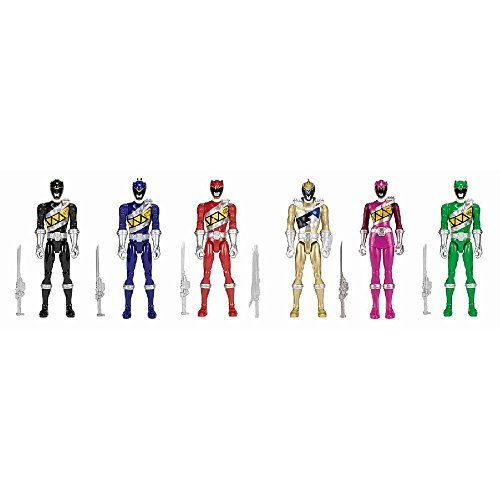 Power Rangers Dino Charge 12 inch Figure - 6 pack