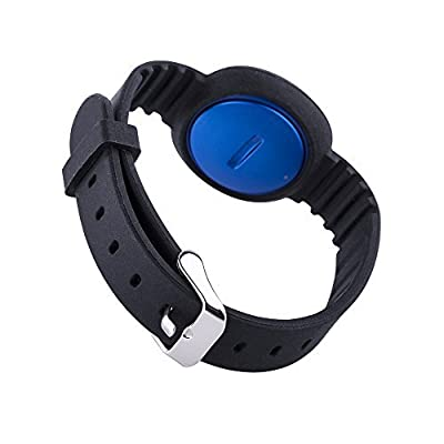 Moretek Wristband Replacement Band for Jawbone Up Move With Chrome Watch Clasp, Color Bands, Accessory